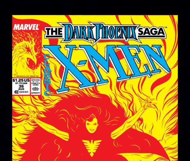 Classic X-Men (1986) #36 Cover