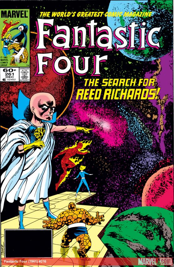 Fantastic Four (1961) #216 Cover