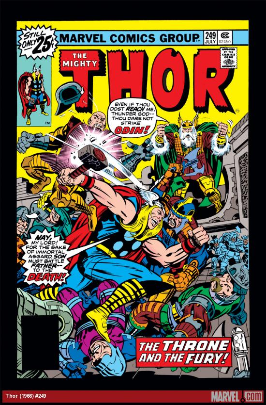 Thor (1966) #249 Cover
