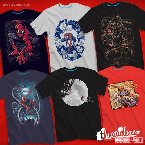 Marvel Spiderman FB T-Shirts