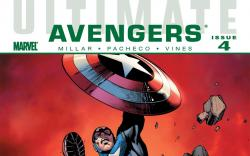 Ultimate Comics Avengers (2009) #4 Cover