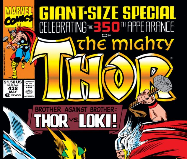 Thor (1966) #432 Cover