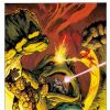 Image Featuring Mole Man, Mr. Fantastic, Thing, Fantastic Four, Human Torch