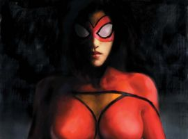 SPIDER-WOMAN #1 Maleev Cover
