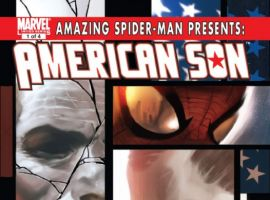 AMAZING SPIDER-MAN PRESENTS: AMERICAN SON #1 cover by Marko Djurdjevic