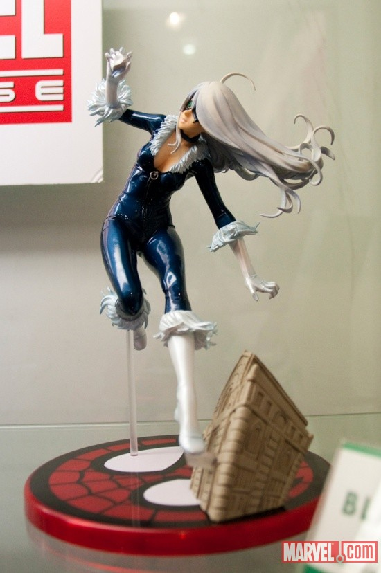 Black Cat Bishoujo Statue from Kotobukiya at Toy Fair 2011