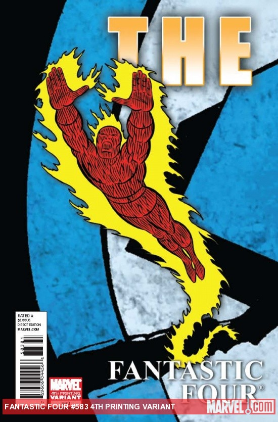 Fantastic Four #583 4th Printing