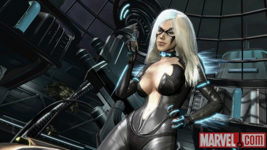 Black Cat screenshot from Spider-Man: Edge of Time