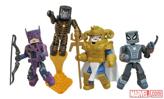 Fear Itself Marvel Minimates