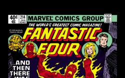 Fantastic Four (1961) #214 Cover