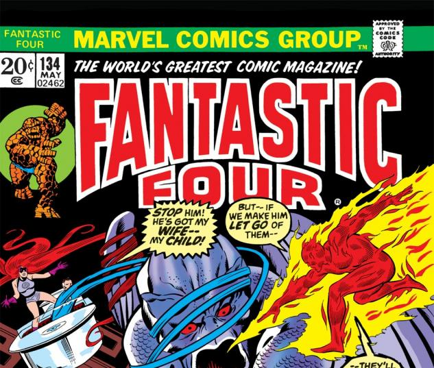 Fantastic Four (1961) #134 Cover