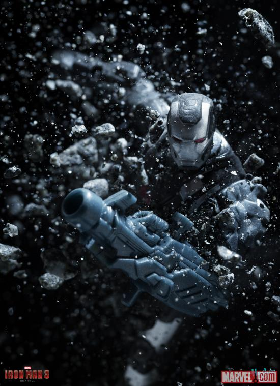 War Machine action figure from Hasbro's Iron Man 3 Assemblers line