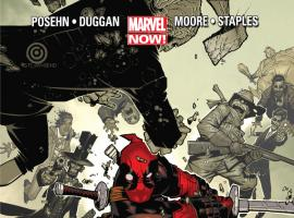 Deadpool (2012) #1 Bachalo Variant Cover