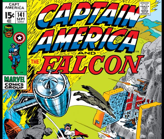 Captain America (1968) #141 Cover