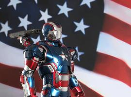 Iron Patriot Figurine from Hot Toys