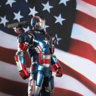 Get a Look at the Iron Patriot Figurine from Hot Toys