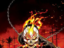 All-New Ghost Rider #2 variant cover by Felipe Smith
