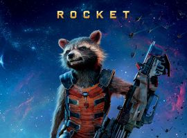 Rocket international poster for Marvel's Guardians of the Galaxy