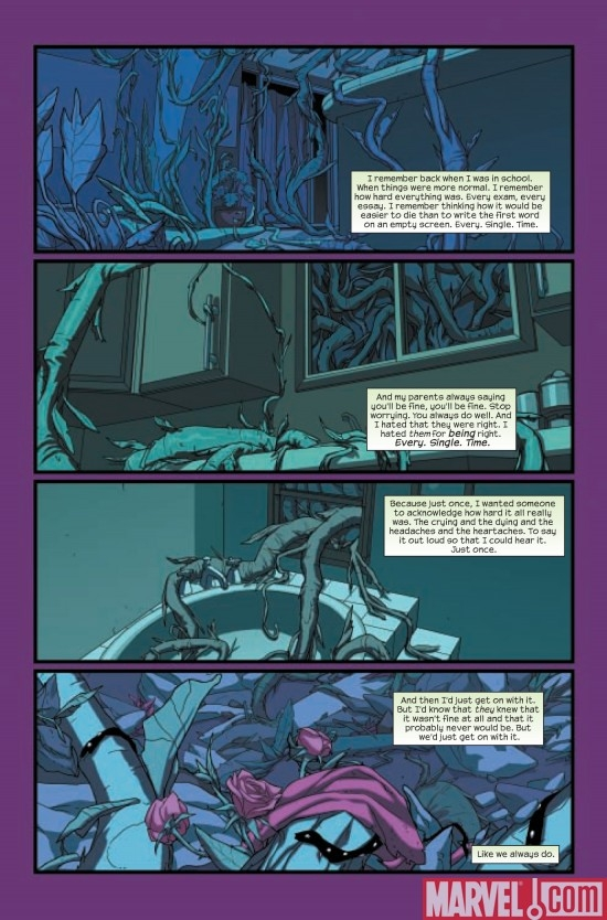 RUNAWAYS #12, page 1