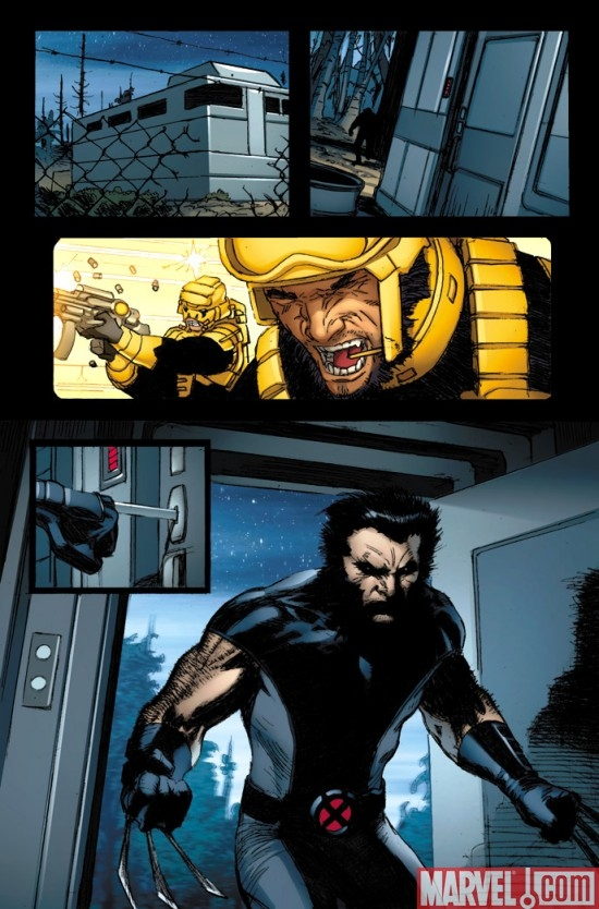 WOLVERINE: WEAPON X #1 preview art by Ron Garney
