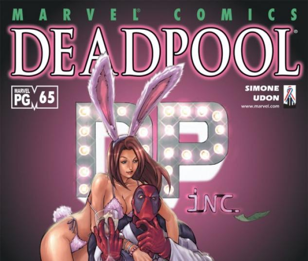 DEADPOOL #65 COVER