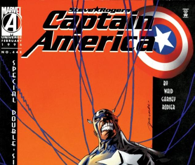 CAPTAIN AMERICA #448 COVER