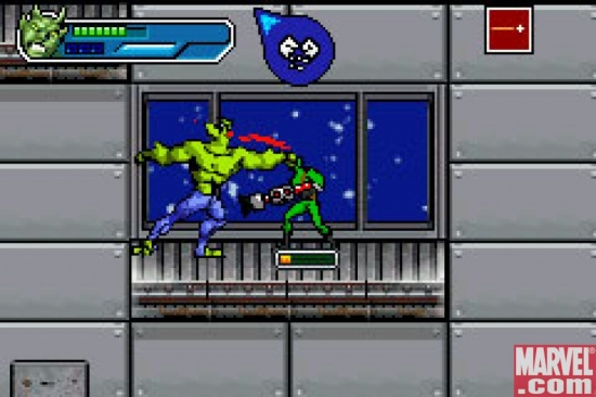 Green Goblin Fight, GBA
