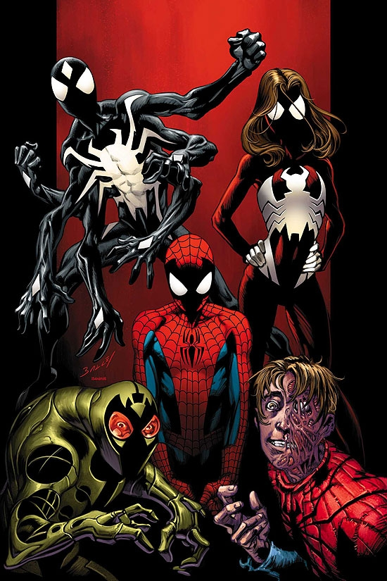 Ultimate Spider-Man #103 cover by Mark Bagley