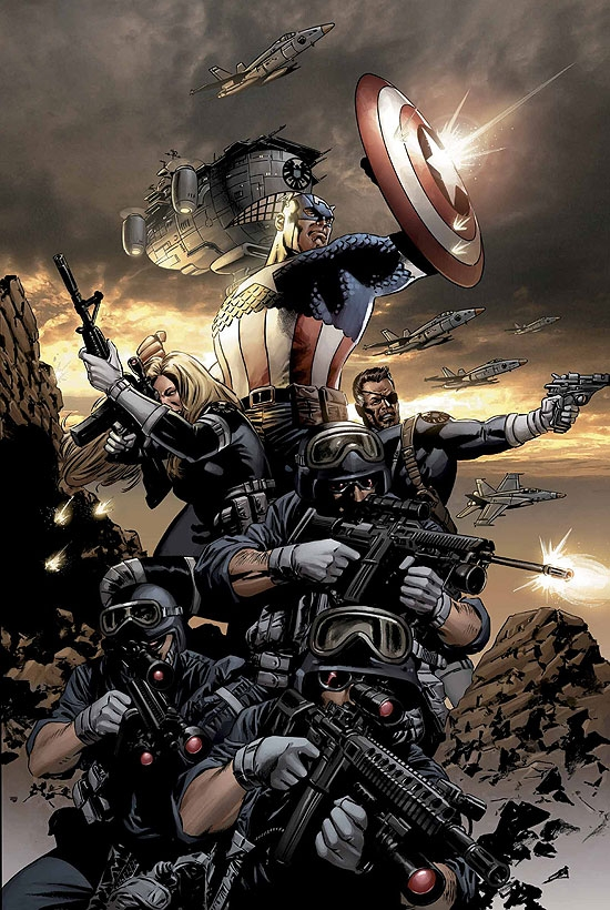 CAPTAIN AMERICA (2006) #9 COVER