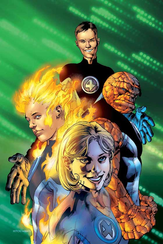 ULTIMATE FANTASTIC FOUR (1999) #1 COVER