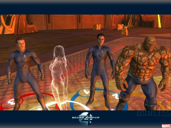 Fantastic Four: Rise of the Silver Surfer: Group Shot 2