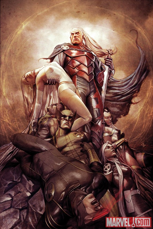 X-MEN #3 cover by Adi Granov