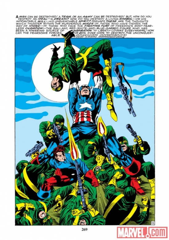 Image Featuring Rick Jones, Captain America