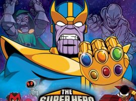 Image Featuring Hulk, Iron Man, Scarlet Witch, Silver Surfer, Thanos, Thor, Wolverine, Captain America, Doctor Doom, Falcon