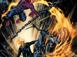 Amazing Spider-Man: Big Time - Spider-Man/Ghost Rider #1 cover