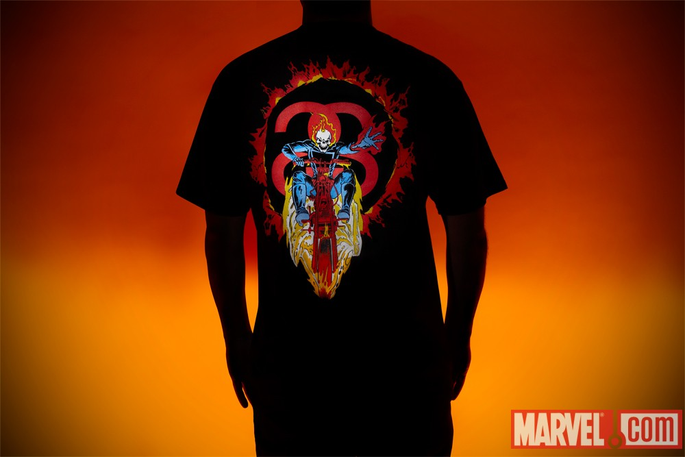 The Stussy x Marvel Project- Ghost Rider Tee