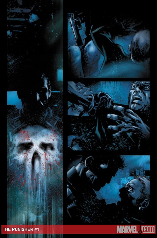 The Punisher #1 preview art by Marco Checchetto