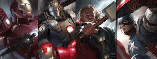 Inside the Art of Marvel Studios
