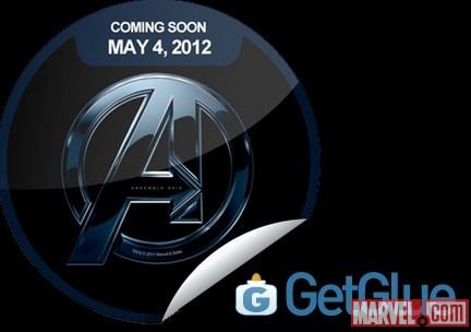 Marvel's The Avengers exclusive GetGlue sticker
