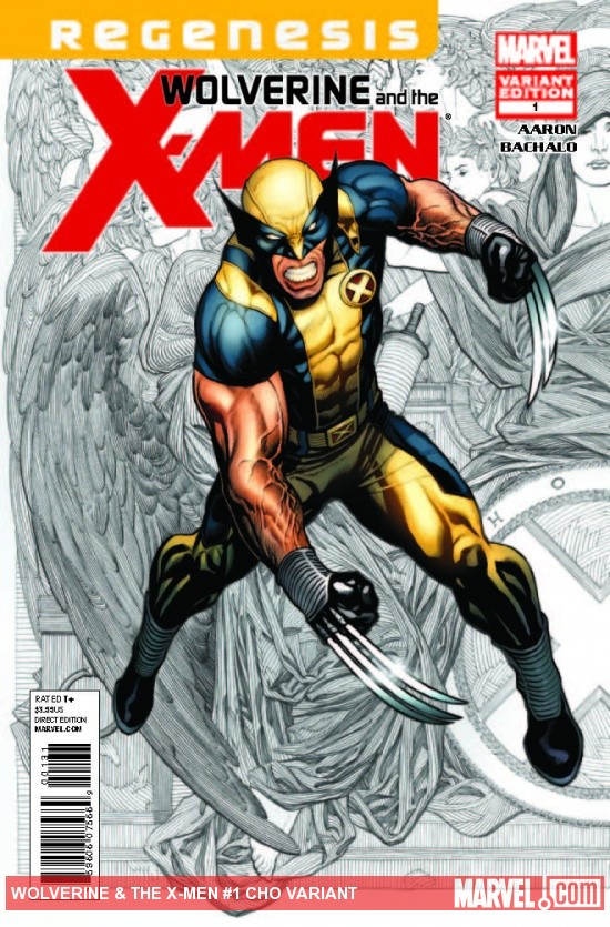 WOLVERINE &amp; THE X-MEN 1 CHO VARIANT (XREGG)