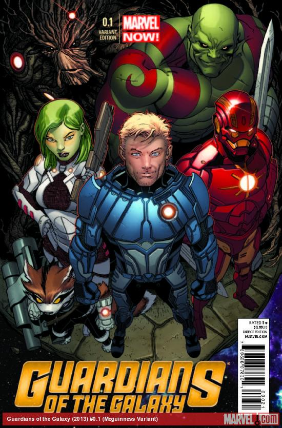 GUARDIANS OF THE GALAXY 0.1 MCGUINNESS VARIANT (NOW, 1 FOR 50, WITH DIGITAL CODE)
