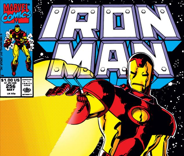 Iron Man (1968) #256 cover