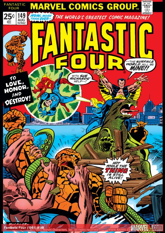 Fantastic Four (1961) #149 Cover