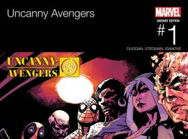 Uncanny Avengers (2015) #1 variant cover by Jason Pearson
