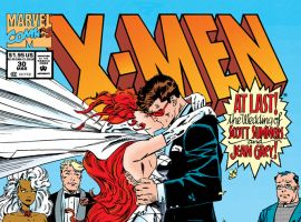 At Last! The Wedding of Scott Summers and Jean Grey