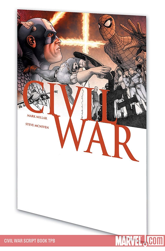 CIVIL WAR SCRIPT BOOK #0