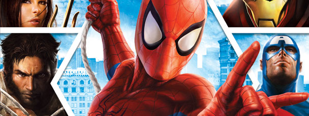 Image Featuring Captain America, Spider-Man