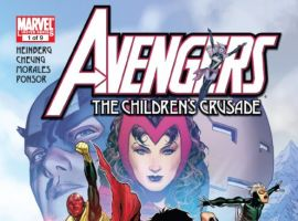 AVENGERS: THE CHILDREN'S CRUSADE #1 cover by Jimmy Cheung