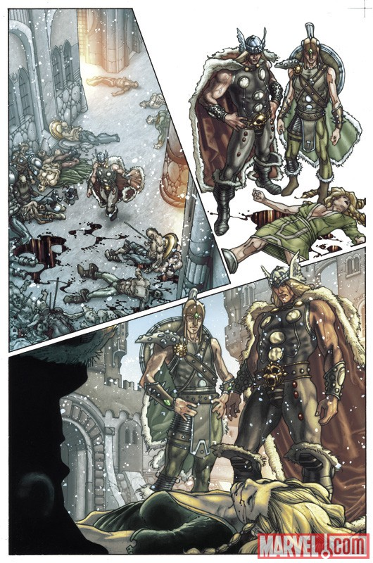 THOR: FOR ASGARD #1 preview art by Simone Bianchi 1