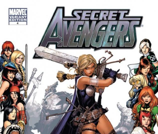 Secret Avengers #4 Women of Marvel variant cover by Chris Bachalo